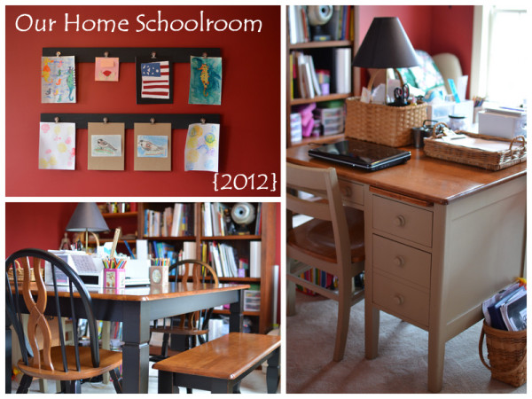 Our Home Schoolroom 2012
