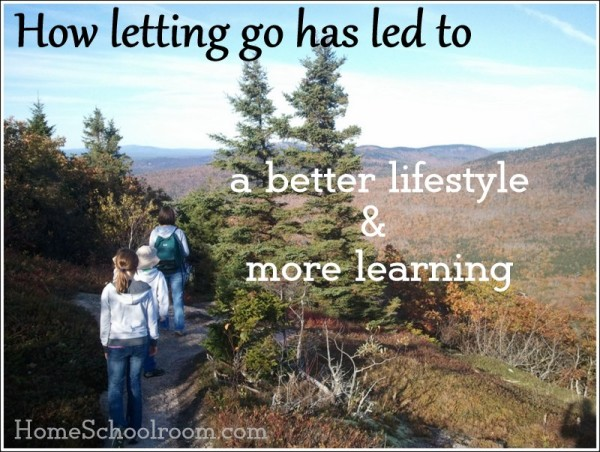 Letting Go in Homeschooling