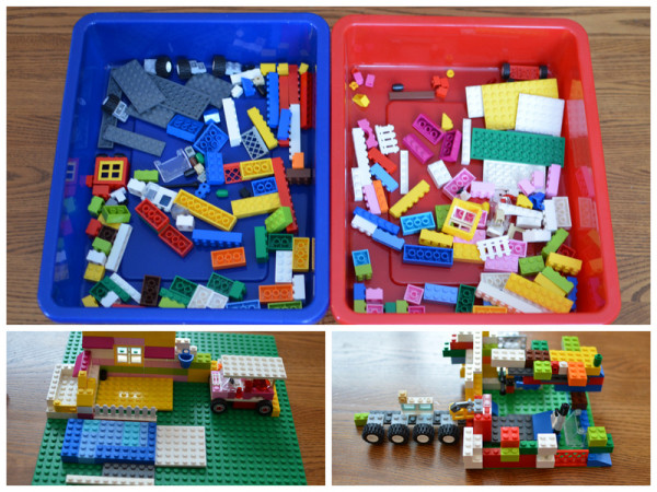 100th Day Lego Challenge