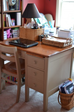 Homeschool Teacher's Desk