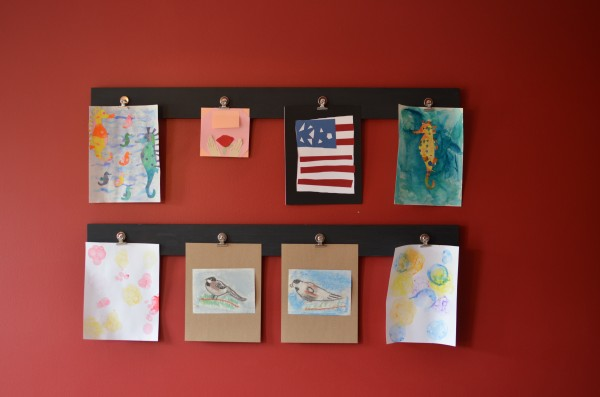 Art Wall for Children's Artwork