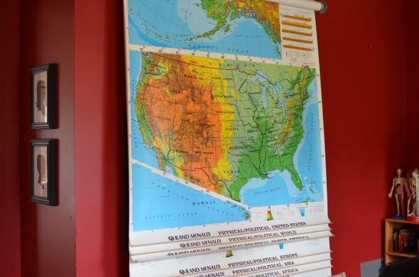 Roll Up Maps for Homeschool
