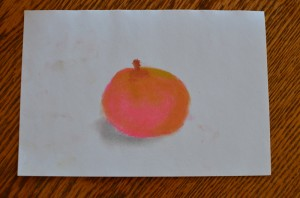 Chalk Pastel Apple