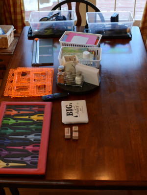 Card Making Station