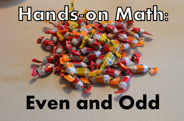 Hands-On Math: Even and Odd From Home Schoolroom
