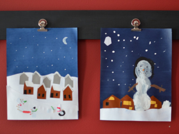 Snowmen Art Project
