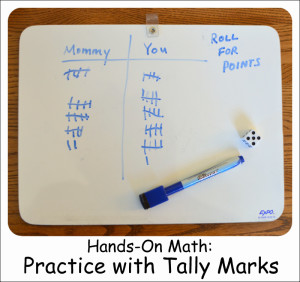 Hands-On Math: Practice with Tally Marks