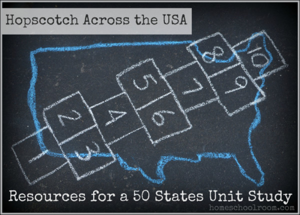 Resources for a 50 States Unit Study