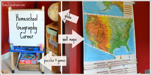 Home Schoolroom Geography Corner