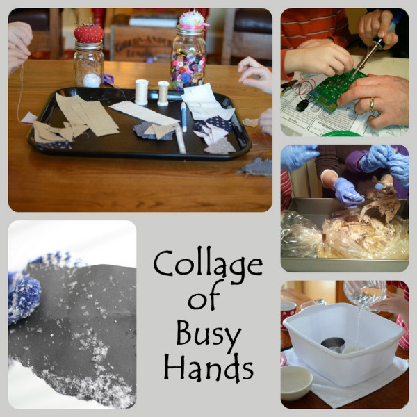 hands on learning collage