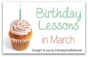 Birthday Lessons in March button
