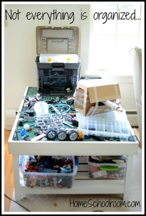 lego robotics mess