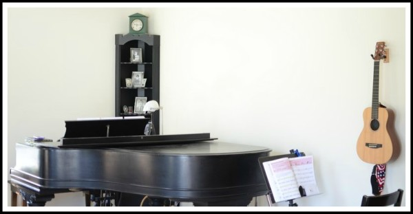 homeschool music room