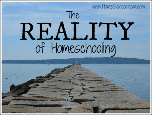 The Reality of Homeschooling ~ Home Schoolroom