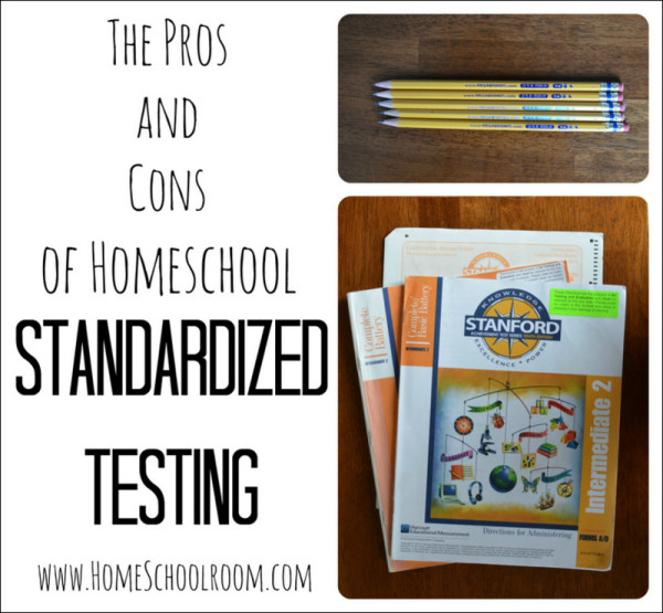 Standardized Testing Pros and Cons List
