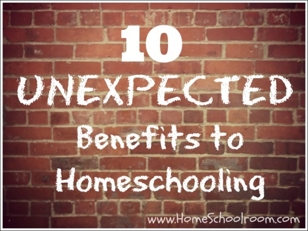 Unexpected Benefits to Homeschooling